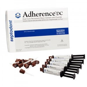 Adherence DC Resin Cement with Fluoride Kit by Septodont