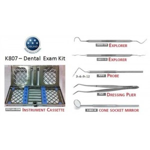 Dental Exam Instruments Kit