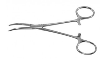 "Kelly Hemostat Scissor, Curved, 5 1/2"", HK2"
