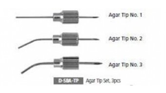 Dental Agar Impression Syringe Tip Set, D-SBA-TP
