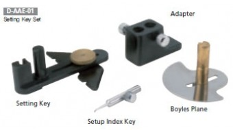 Setting Key Set for Versatile Dental Articulator