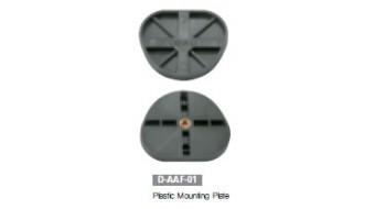 Plastic Mounting Plate for Versatile Dental Articulator
