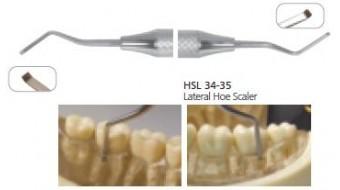 Dental Lateral Hoe Scaler HSL34-35