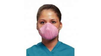Defend Premium Molded Cone Mask (Pink)