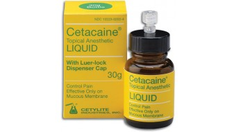 Cetacaine Anesthetic Liquid