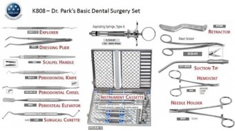 Dr. Park's Basic Dental Surgery Kit