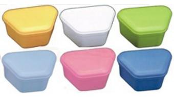 DENTURE BOXES, assorted colors 10/Box