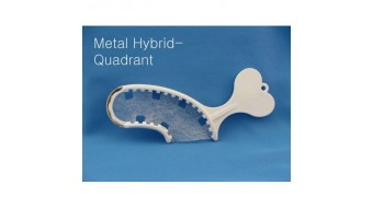 Metal Hybrid Quadrant Trays