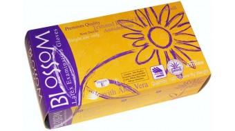 Latex Powder Free Aloe Gloves by Blossom