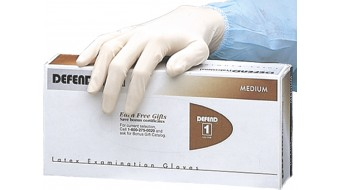 Latex Gloves by Defend