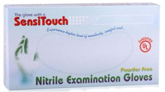 Sensitouch Nitrile Powder-Free, Blue