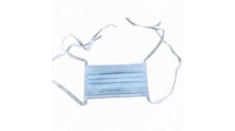 Tie-On Anti-Fog Pleated Mask 50/Box