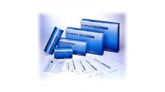 """Sterilization Pouches  7-1/2"""" x 13"""" by Unipack"""