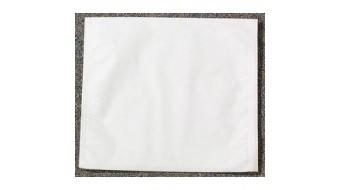 "Unipack Tissue/Poly Headrest  - White 10""x10"""