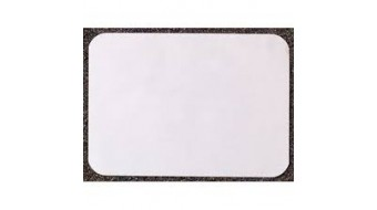 "Weber ""C"" Tray Cover White 9.5"" x 12.375"""