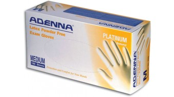 Powder Free Latex Gloves Adenna Platinum